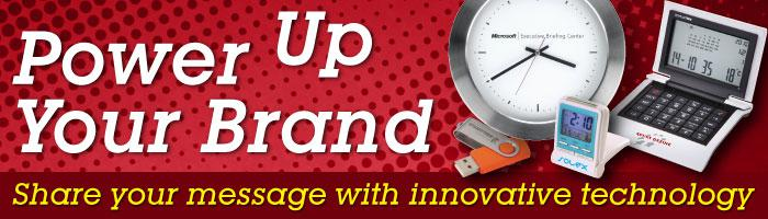 Power Up Your Brand with Electronic Promotional Goods